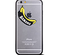modello banane cornice Back Cover per iPhone 6