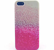 Glitter Pattern PC harter Fall für iPhone 5/5 s