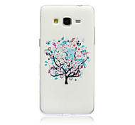 Tree Pattern TPU Material Soft Phone Case for Samsung Galaxy Grand Prime G530