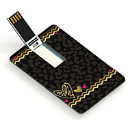 64GB Leopard Print Design Card USB Flash Drive