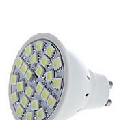5W GU10 Focos LED 24 SMD 5050 250-350 lm Blanco Cálido / Blanco Fresco AC 100-240 V 5 piezas