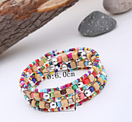 Women's Colorful Beads Bracelet