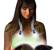 HRY® 0.5W 50LM 4XLED Hands-free Flexible Portable Book Reading Light Hug Lamp neck(Blue)