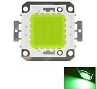 diy 30w verde cor de chips lâmpada de poupança de energia de alta potência levou módulo (dc30-36v)