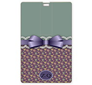Personalized USB Flash Drive Lovely Bowknot Design 8GB Card USB Flash Drive