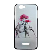 Elephant Pattern PC Phone Case For Wiko RAINBOW