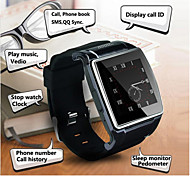 Kimlink Hiwatch II Wearable Smart Watch Phone/Android/2.0M Camera/Media Control/Activity Tracker