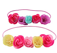 Baby Rose Flower Headband And Aliceband Suit