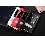 InternatiOnal Version Of The Pu Leather Specially Designed Body Open The Window For Sony Xperia Z4 (Assorted Color)