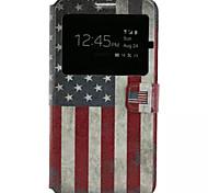 étoiles et rayures cuir PU étui de téléphone portable pour Samsung Galaxy j7