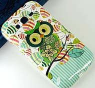 Green cartoon owl Pattern Design Pattern Protective TPU Soft Case for Samsung Galaxy Grand Neo I9060