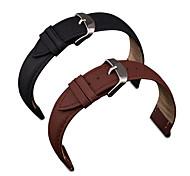 per iWatch 38 millimetri cinturino reale genuino del cuoio del litchi cinghie banda modello da polso per gli accessori iWatch