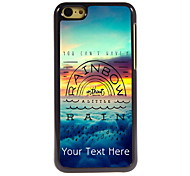 Personalized Gift You Can't Have a Rainbow Design Aluminum Hard Case for iPhone 5C