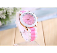 Women's Fashine Candy Color Quartz Analog Sillicon  Wrist Watch(Assorted Colors) Cool Watches Unique Watches Strap Watch