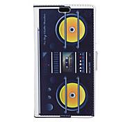 UKW-Radio-Muster Ganzkörper Tasche für Asus zenfone 2 (5.5)