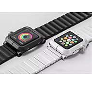 New Aluminum Alloy Frame Aluminum Strap Watch Band Adapter Metal Connector For Apple Watch iWatch 42 mm