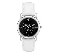 Women's Round Dial Constellation Gemini  Fashion Wrist Watch