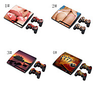Sex Girl Designer Skin for PlayStation PS3 Slim System & Remote Controllers
