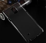 étui transparent téléphone pc pour Samsung Galaxy Note 4