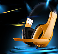 Professional USB Stereo Gaming Headset Headphone with Mic for PC Gamer