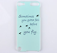 Asuka Pattern PC Material Phone Case for iTouch 5