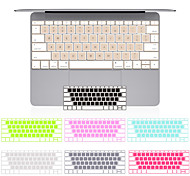 "US version Translucent Mixed Color Silicone Keyboard Cover for Macbook 13"" 15"" 17"""