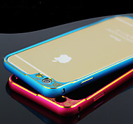 Iphone 6 4.7-Inch relief scalloped metal frame to protect the lens arc metal frame S-0010-1