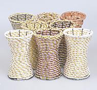 artigos de mobiliário de casa vaso decoração (cor randomização)
