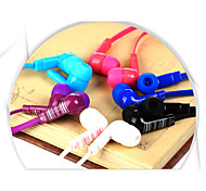 stylish (Ohrhörer, In-Ear) 3,5-mm-Eingang gelten für samsung iphone 4/5 s / 6 / 6plus htc / red Reis / Hirse (Farbe sortiert)