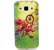 Wind Chime Pattern TPU Soft Case for Samsung Galaxy J1