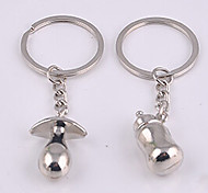 Stainless Steel Feeding Milk Bottle Nipples Key Chain Ring Keyring