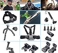 GoPro kit de accesorios 8 en 1 para GoPro héroe 3+ 4 3 2 1 cámara