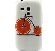 modello bicicletta materiale TPU soft phone per mini i8190 galassia S3