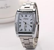 Frau Kleid Uhren Genf brandneuen Ankunft Legierungsband Herrenuhr Kinderuhren Armbanduhren Stahl watchxr1119