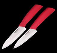 "Classic Chef Knife 5 ""+ 6"" Ceramic Knife (2 PCS)"
