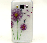 Color Dandelion Pattern Glitter TPU Cell Phone Soft Shell For Galaxy A3 /A5 /A7
