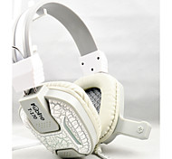 New Bass Stereo USB Gaming Headphones LED Headband Noise-Cancelling PC Computer Game Headset