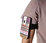 Universal Ethical Pattern PU Leather Hang Wist Band Wrist Strap for Mobile Phone under 5.5 inch