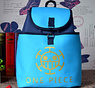 Bag Inspired by One Piece Cosplay Anime Cosplay Accessories Bag / Backpack Blue Canvas Male / Female