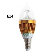 zweihnder e14 / e27 5W 450lm 15x2835 LED SMD lumière blanche chaude blanc ampoule de bougie (AC 220-240V)