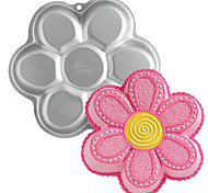 quatro c bandeja de bolo forma de flor de metal de alumínio baking molde, ferramentas de cozimento de bolos