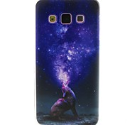 Star Pattern TPU Material Phone Case for Samsung  Galaxy A3 A5