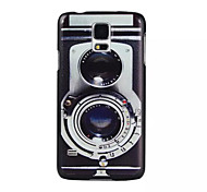 Retro Camera Pattern PC Painted Hard Case For S4 Mini/S5