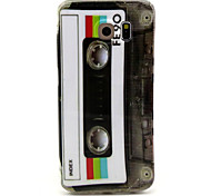 Magnetic tape Pattern TPU  Hemming  Phone Case For Galaxy S6