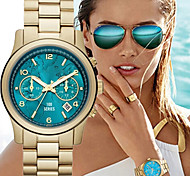 Fashion Women's Watch Quartz Strap Watch Gold Wrist Watch Cool Watches Unique Watches