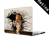 """diseño del tigre funda protectora de cuerpo completo de 13 """"/ 15"""" macbook-pro con pantalla de retina"""