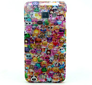 Lovely Face  Pattern Glitter TPU Cell Phone Soft Shell For Galaxy A3 /A5 /A7
