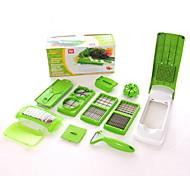 1 pièces Cutter & Slicer For Pour légumes Silikon Multifonction / Creative Kitchen Gadget / Nouveautés