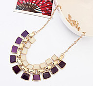 Cusa Fashion Double-deck Diamond Necklace