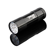 TanLu 1 Mode 100 Lumens LED Flashlights/Handheld Flashlights AAA Nonslip grip/Counterfeit Detector LED LEDEveryday